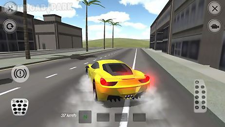extreme luxury car racer