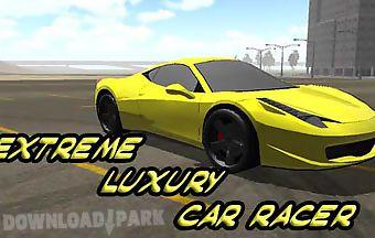 Extreme luxury car racer