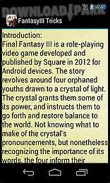 final fantasy iii tricks