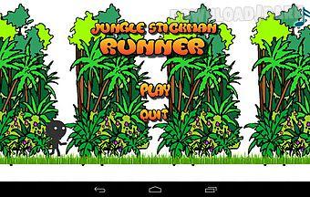 Jungle stickman runner