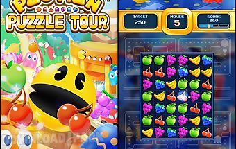 Pac-man: puzzle tour