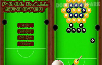 Pool ball shooter