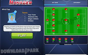 Soccer football manager 2015