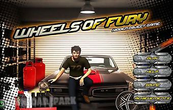 Wheels of fury - hidden object