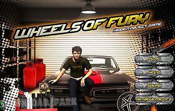 Wheels of fury - hidden object