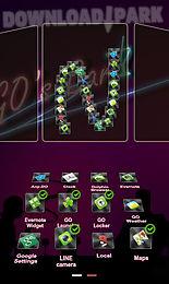 club next launcher 3d theme