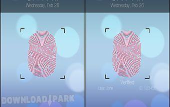Fingerprint lock prank pro