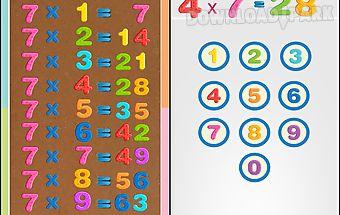 Kids multiplication tables