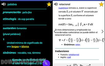Spanish dictionary - offline