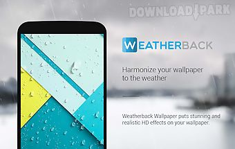 Weather forecast wallpaper