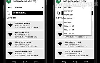 Wifi wps wpa tester wep prank Android App free download in Apk