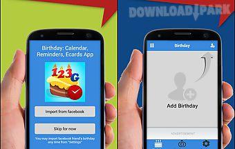 Free Birthday Reminder App ~ Facebook birthday reminder android app free download in apk