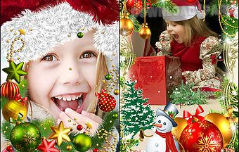 Christmas accessories and frames