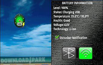Gauge battery widget best