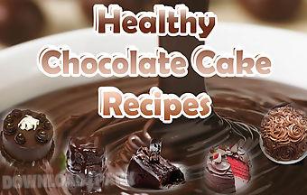 Healthy chocolate recipes - cake..