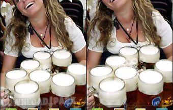Oktoberfest girl live wallpaper