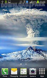 smoke volcano