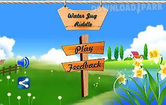 Water jug puzzle fun game
