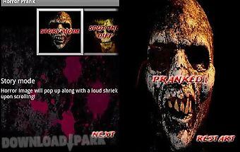 Horror popup prank
