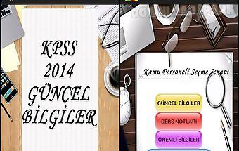 Kpss 2014 gÜncel bİlgİler ful..