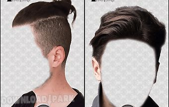 Men hairstyles photo montage