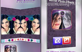 Mirror photo effects editor