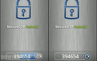 Secureotp android