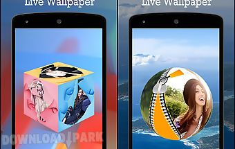 3d photo live wallpaper