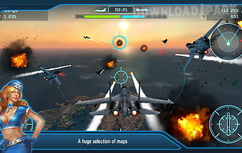 Battle of warplanes: air wings