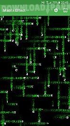 matrix effect live wallpaper