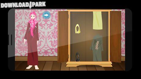 muslim veil dressup & makeup