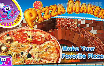 Pizza maker crazy chef game