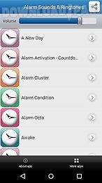 alarm sounds & ringtones
