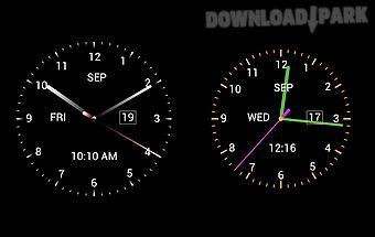 Jesus analog clock Android App free download in Apk