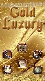gold luxury deluxe theme