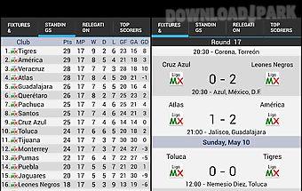 Liga mx standings