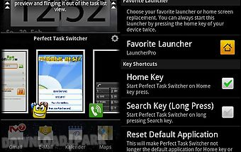Perfect task switcher