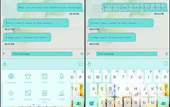 Touchpal spring easter theme