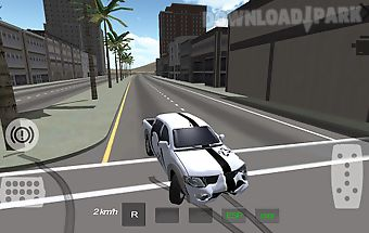 Extreme pickup crush drive 3d