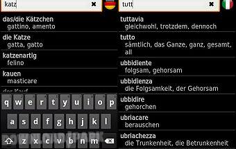 Italian - german offline dict.