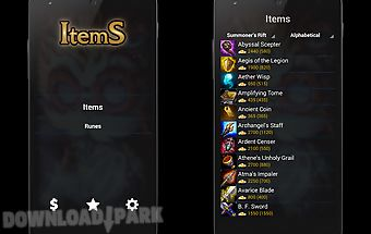 Items of league of legends