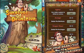 Survival of primitive