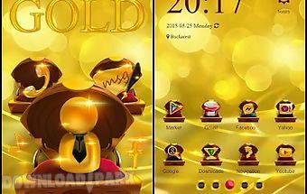 Gold theme launcher