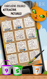kids coloring and math free