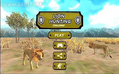 lion hunting challenge 3d