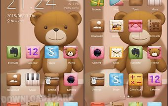 Teddy theme - zero launcher