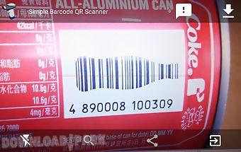 Barcode qr datamatrix scanner