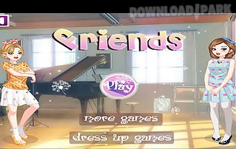 Best friends dress up game