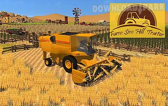 Farming sim hill tractor