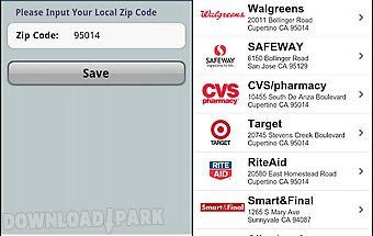 Grocery pal (in-store savings)